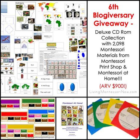 montessori printable shop 6th blogiversary giveaway montessori print shop deluxe