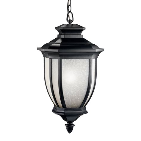 Pendant Lighting At Lowes Shop Kichler Salisbury 25 In Black Outdoor Pendant Light At Lowes
