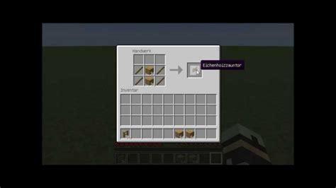 wie baut bei minecraft ein bett minecraft tutorial zaun zauntor craften 1 11 2