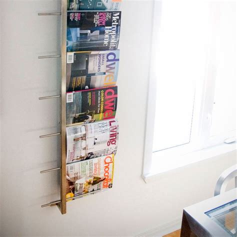 neu home 19034 wall mounted magazine rack 1000 ideas about magazine rack wall on modern