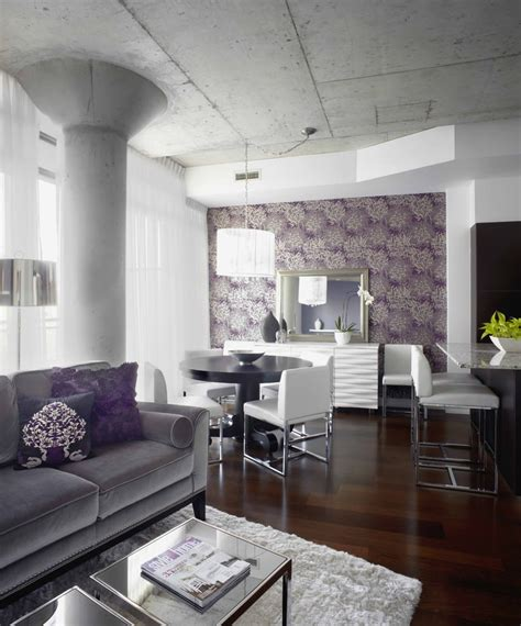 purple living room decor 23 purple dining room designs decorating ideas design