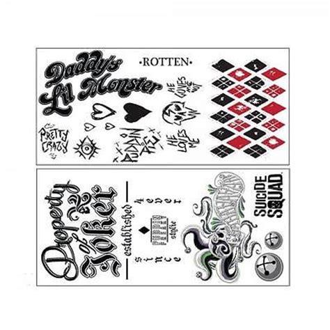 jared leto joker tattoo transfers harley quinn rotten tattoo s 246 k p 229 google want it need