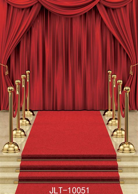 carpets and drapes sjoloon red carpet and curtain background vinyl decoration