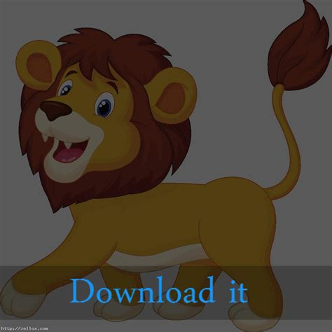 cartoon png lion clipart png
