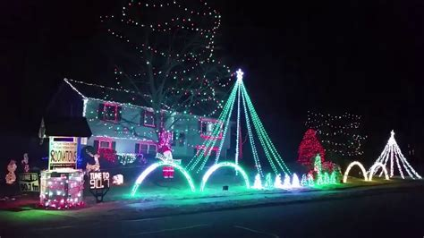 lowell macaroni kid holiday lights 2016 youtube