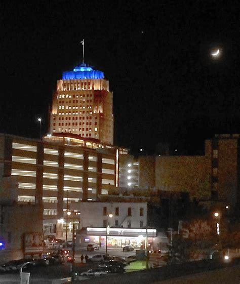 christmas lights in allentown pa ppl tower lights will not mean a blue christmas lehigh