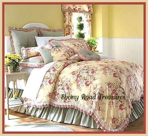 toile comforter sets 11 king buttery yellow floral toile comforter set