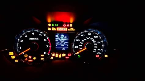 2015 Subaru Forester Xt Eyesight Warning Lights Us Spec