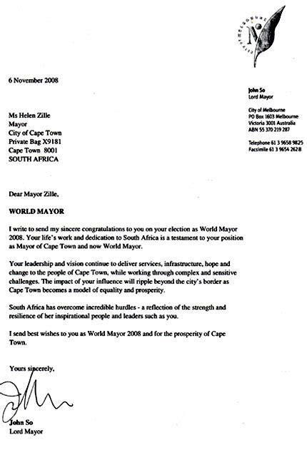 Sweepstakes Winner Letter - essay contest winner letter
