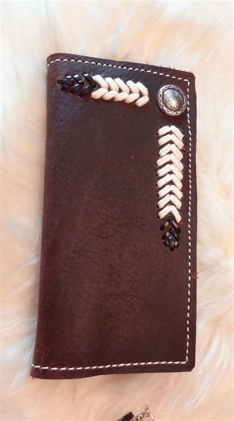 leather roper wallet pattern leather roper wallet by rodeomomkat on etsy 45 00 made