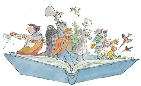 libro the art of charlie quentin blake is drawing in crowds woking news and mail