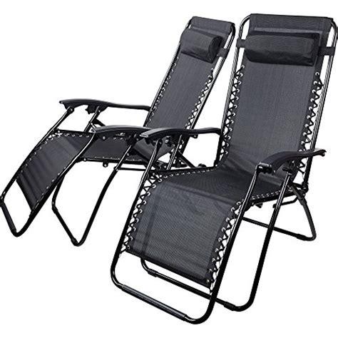 sedie reclinabili sedie sdraio reclinabili nere textoline zero gravity da