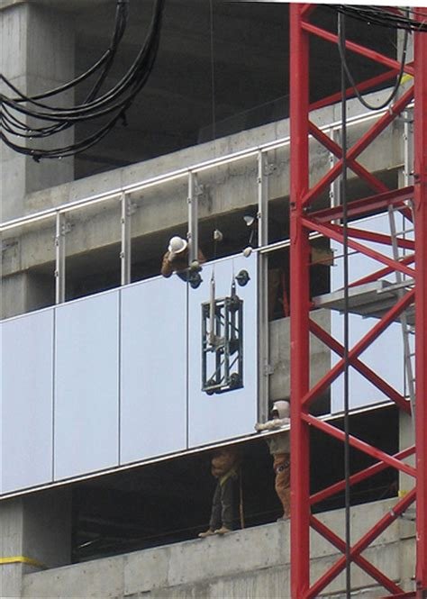 curtain wall installation process curtain wall installation