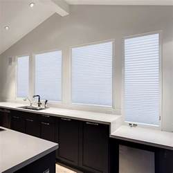 How To Make L Shades At Home With Paper - redi shade easy lift trim at home white cordless spun lace