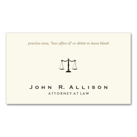 attorney business cards templates 17 best images about lawyer business cards on