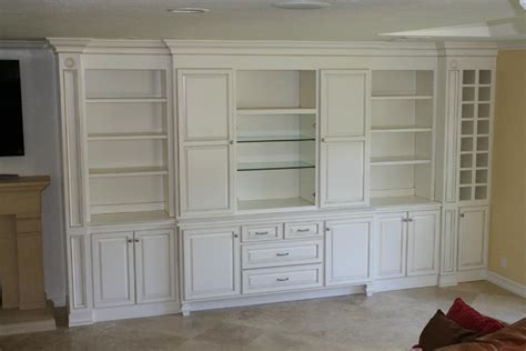 hand crafted built in wall unit for widescreen tv in built in wall units tjihome