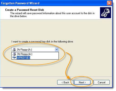 windows vista password reset key create xp password reset disk do not need to worry about