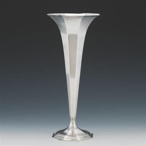 sterling silver vase a sterling silver trumpet vase 05 22 14 sold 885 5
