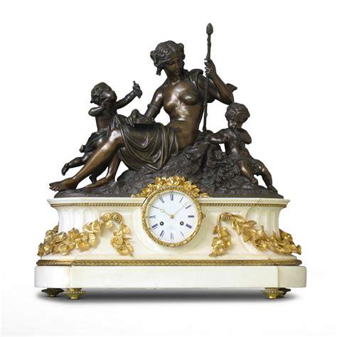 Pendules Anciennes De Cheminee by Quot L Automne Quot Importante Pendule De Chemin 233 E Xixe Si 232 Cle