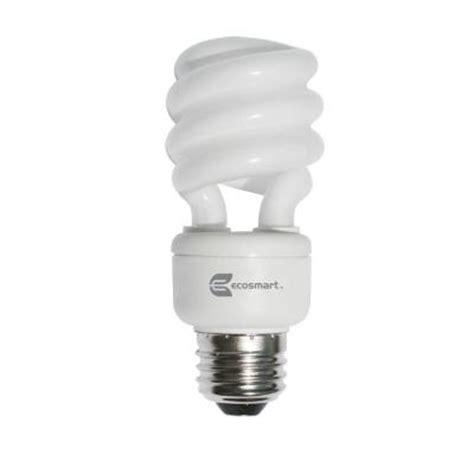 who makes ecosmart light bulbs ecosmart 60w equivalent daylight 5500k shatter resistant