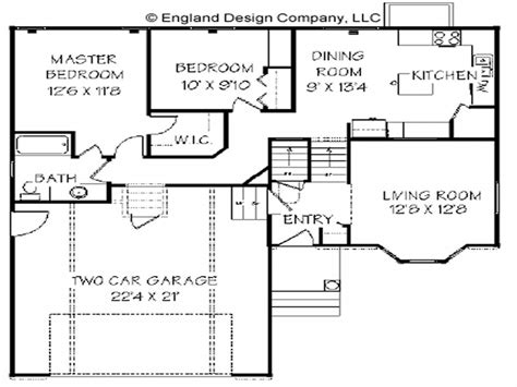 home level split house plans bi level house plan house