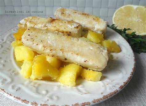 ricette per cucinare il merluzzo surgelato filetto di merluzzo al limone con pochi grassi