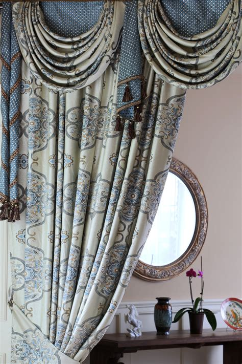 persian curtains persian dance mix match swags valance curtain set with