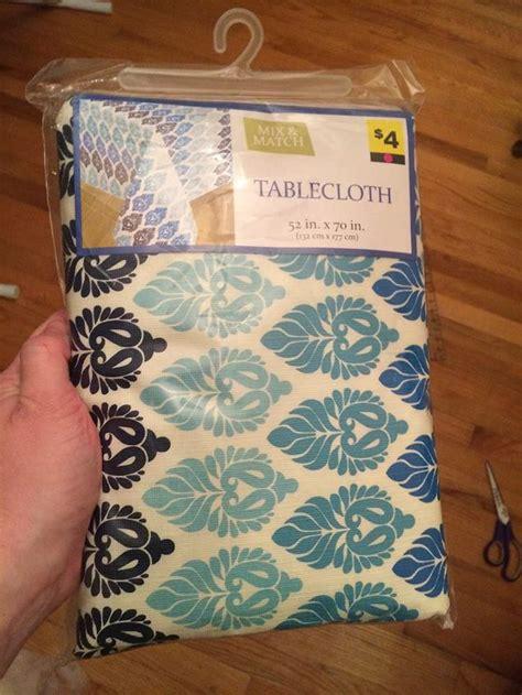 DIY Picnic Table Cloth Outdoor Pillows & Garage Sale