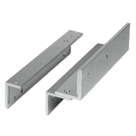 Magnetic Lock 600lbs Monitored With Zl Bracket external maglocks uk access security products