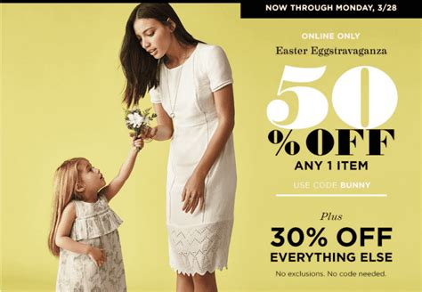 old navy 50 off any one item today only 10 5 13 w old navy canada easter eggstravaganza offers hot save