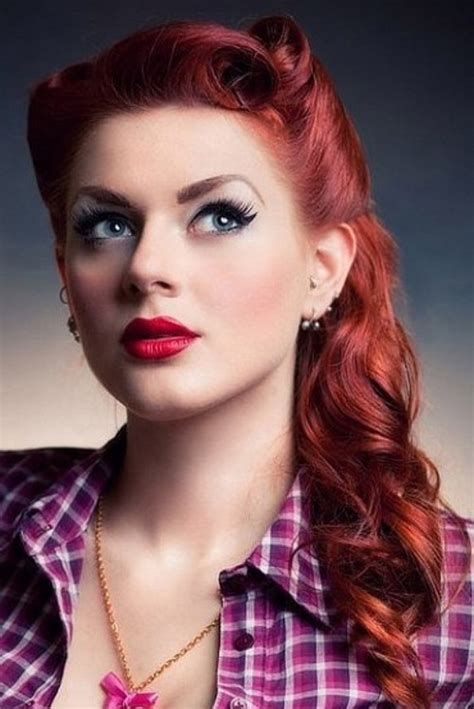 Pin Up Hairstyles For Prom by Pin Up Hairstyles For Hair Prom Images New