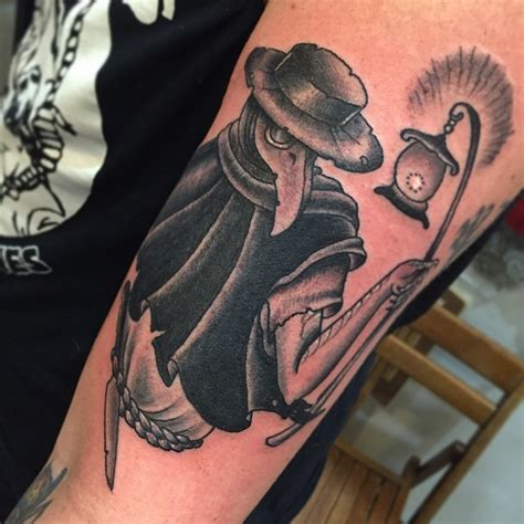 black locust tattoo york pa plague doctor by gin hicks timmy tattoo longisland ny icon