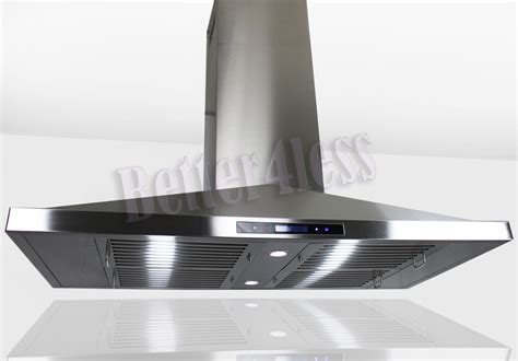 European Kitchen Faucets by 48 Island Mount Stainless Steel Kitchen Range Hood Stove