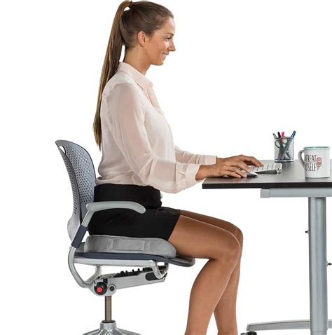 sit in the chair or sit on the chair how to make office chair more comfortable few easy fixes