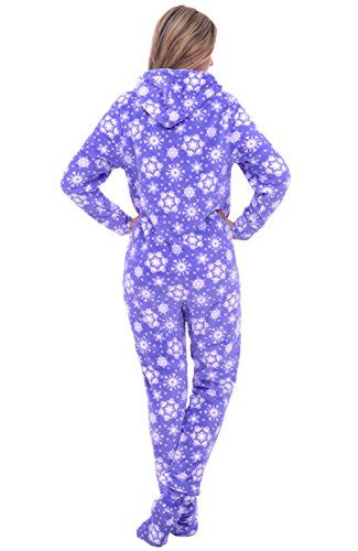 Jumpsuit Rossa 1 rossa s fleece onesie hooded footed jumpsuit pajamas 3x blue snowflake a0322p353x