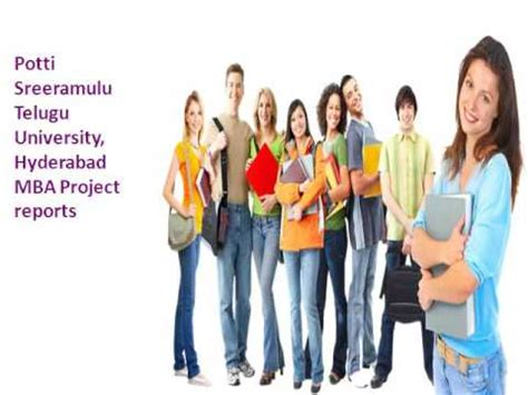 Mba In Project Management In Hyderabad by Potti Sreeramulu Telugu Hyderabad Hostzin