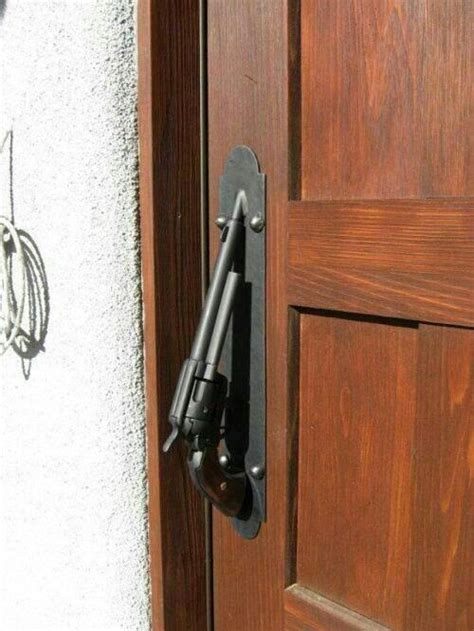 gun door handle pistol door handle gun stuff pinterest