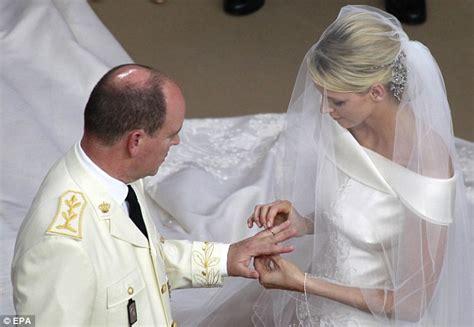 monaco royal wedding charlene and prince albert exchange
