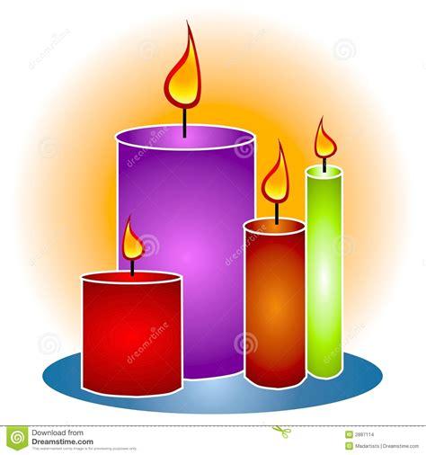 candele decorative candele decorative clipart di lit immagini stock