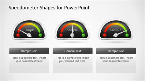 Animated Dashboard Speedometer Template For Powerpoint Powerpoint Dashboard Gauges