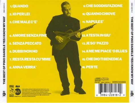 pino daniele the best pino daniele yes i my way the best of 1998