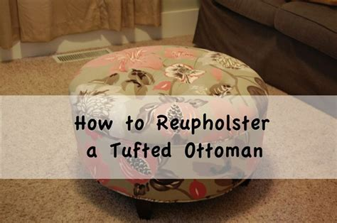 reupholster ottoman yourself best 25 upholstered footstool ideas on