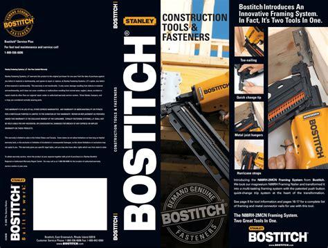 100 bostitch cap2060p parts list and air compressor