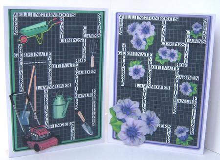card hugs crossword his n hers gardening crossword cup562955 1566 craftsuprint