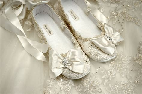 ballet flats wedding shoes womens wedding shoes wedding ballet flat wedding vintage