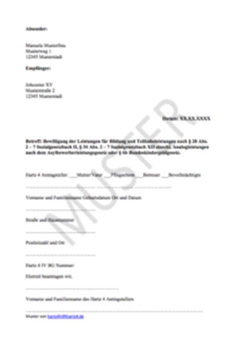 Hartz 4 Antrag: Muster für alle Belange   Hartz IV & ALG 2