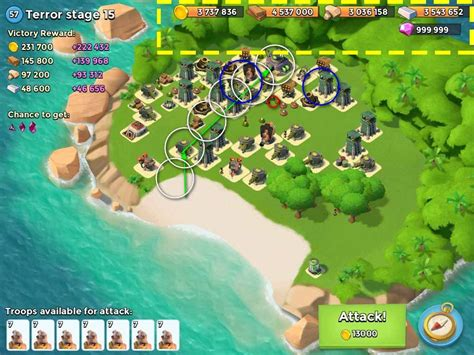 boom beach hack unlimited diamonds coins and woods boom beach hack tool apk cheats online diamonds gold and