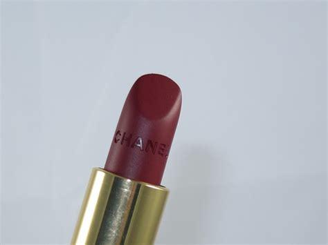 Chanel Lipstick Matte chanel la desiree velvet matte lipstick review swatches musings of a muse