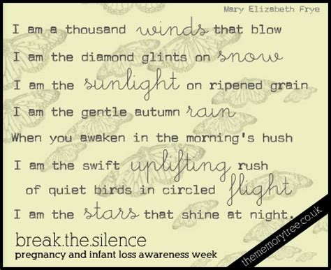 Awarness In The Silence 17 best images about healing after losing a baby on
