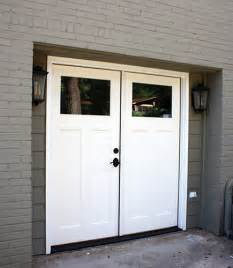 door garage conversion how to